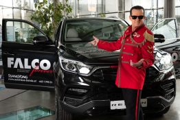 FALCO forever powered by SsangYong
