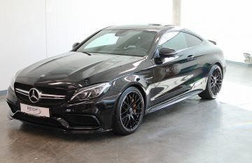 Mercedes-Benz C 63 S AMG Coupe Aut. EDITION 1  Carbon Interieur bei Benda & Partner Autohaus GmbH in Wien